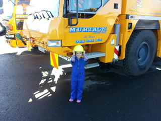 Our little crane driver